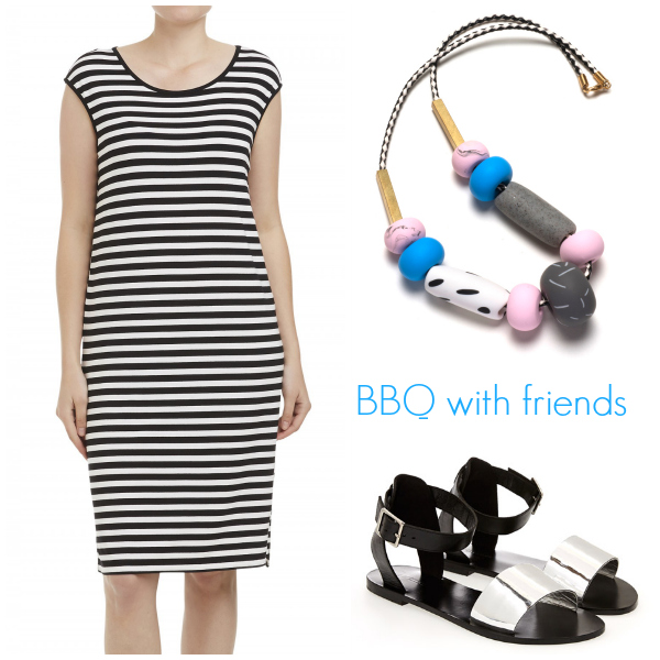 Style and Shenanigans Spring Basics - BBQ With Friends