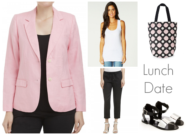 Style and Shenanigans Spring Basics - Lunch Date
