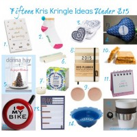 15 Kris Kringle Ideas Under $15 for Christmas 2014