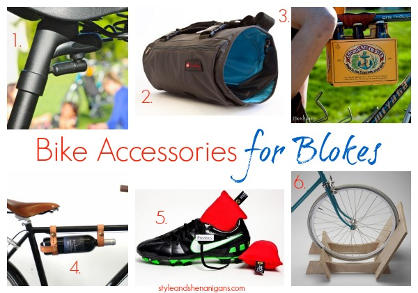 Style and Shenanigans Bike Accessories for Blokes