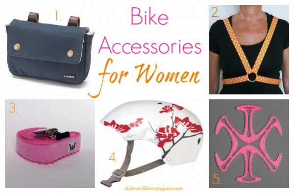 Style and Shenanigans Bike Accessories for Women