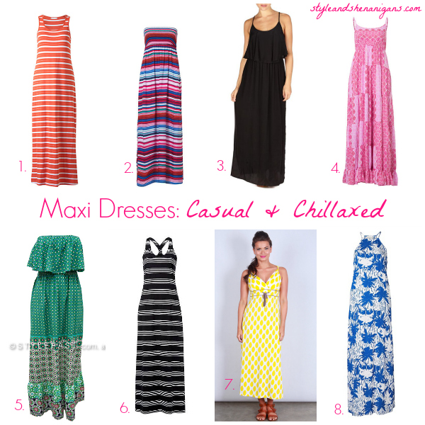 Maxi Dresses: From Casual to Glam