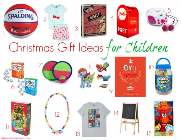 Style and Shenanigans Christmas Gift Ideas for Children
