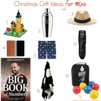 Style and Shenanigans Christmas Gift Ideas for Men