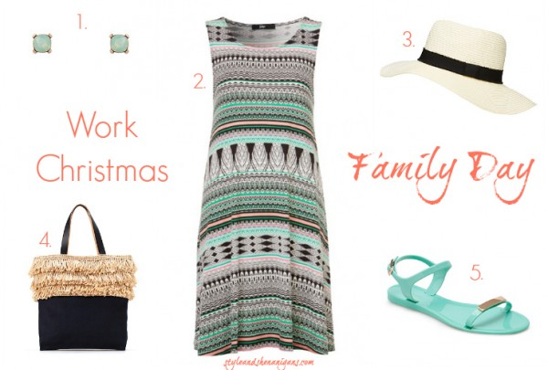Style and Shenanigans What to Wear to a Work Christmas Family Day
