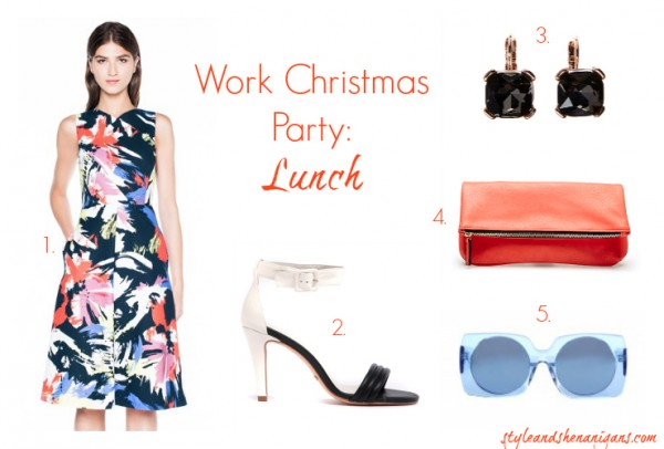 Style and Shenanigans What to Wear to the Work Christmas Lunch