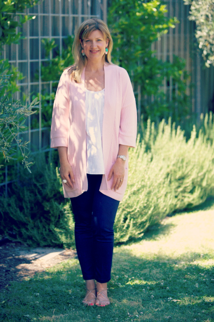 Style and Shenanigans wearing BT Cardy & Cami 2