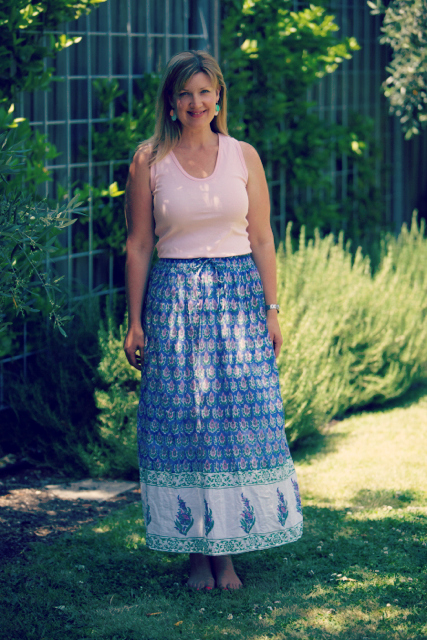 Style and Shenanigans wearing BT Maxi