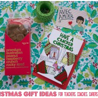 Christmas Gift Ideas for Teachers, Coaches, Friends & Helpers