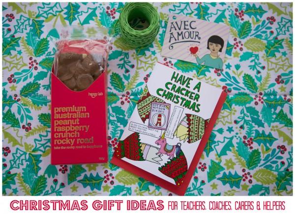 Christmas Gift Ideas for Teachers et al graphic