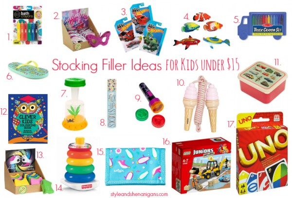 Style and Shenanigans Stocking Filler Ideas Under $15