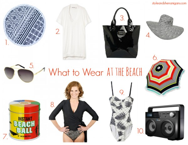Style and Shenanigans What to Wear at the Beach
