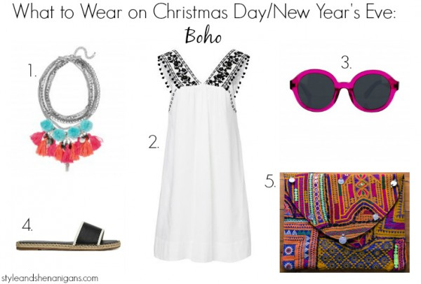 What to Wear on Christmas Day:NYE Boho