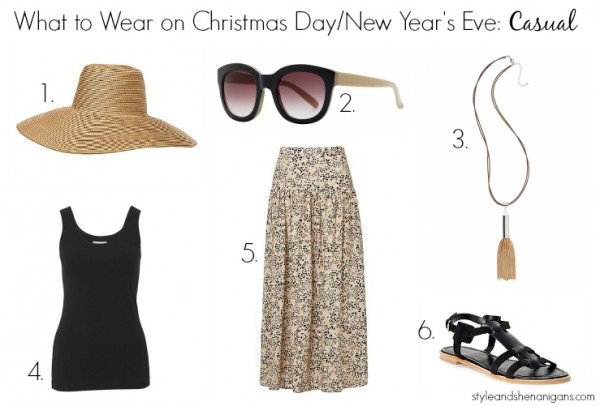 What to Wear on Christmas:Day:NYE Casual