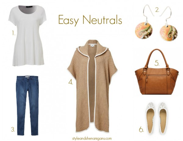 Autumn Basics 3 Ways- Easy Neutrals