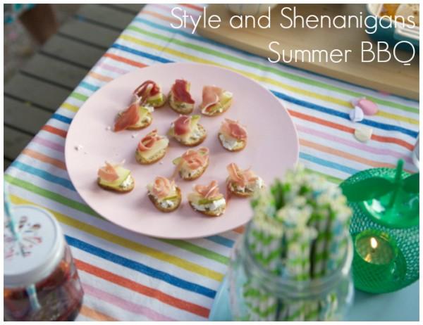 Summer BBQ Slider