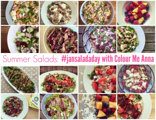 Summer Salads -#jansaladaday with Colour Me Anna