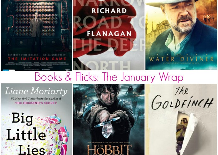 Books and Flicks: The January Wrap