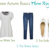 3 Autumn Basics 3 Ways