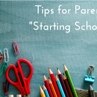 "Tips for Parents ""Starting School"""