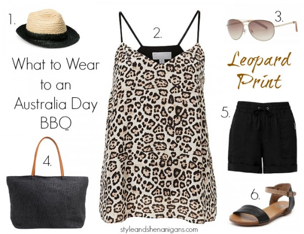 What to Wear on Aus Day - Leopard