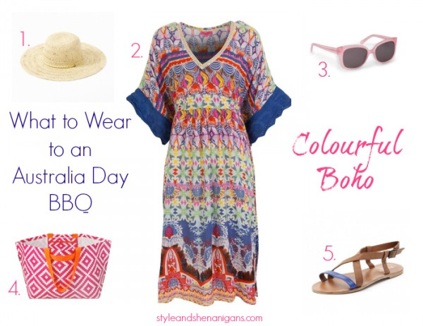 What to Wear to an Australia Day BBQ - Colourful Boho