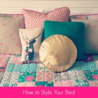 How to style your bed