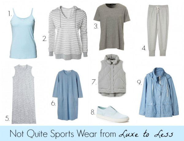 Not Quite Sportswear from Luxe to Less