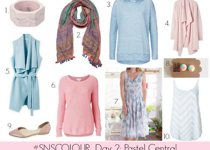 #SNSCOLOUR 2015 Day 2: Pastel Central