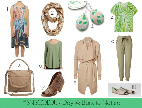 #SNSCOLOUR Back to Nature - Slider
