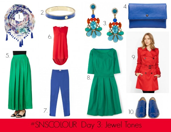 #SNSCOLOUR DAY 3 JEWEL TONES