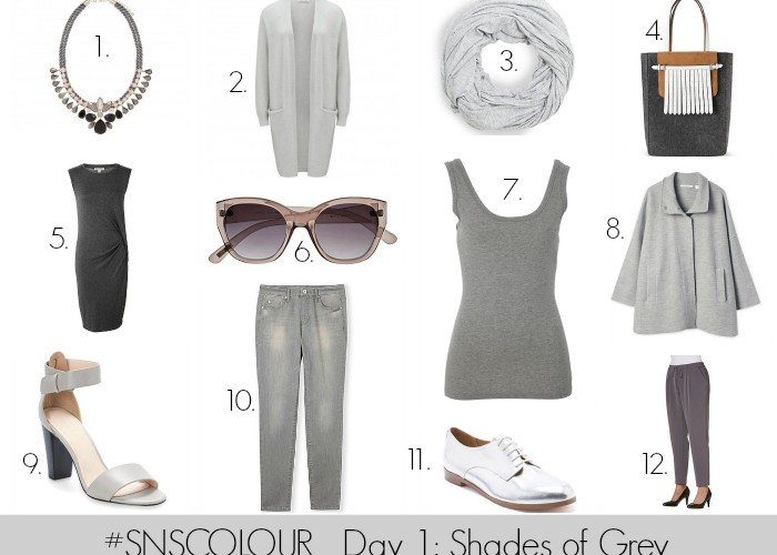 #SNSCOLOUR 2015 DAY 1: Shades of Grey
