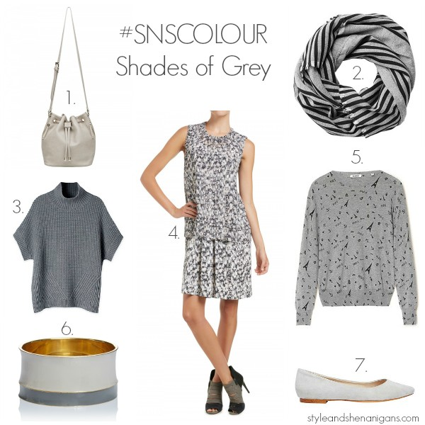 #SNSCOLOUR SHADES OF GREY #2