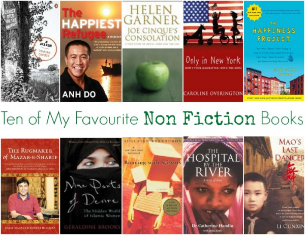 The Top 10 My Favourite Non Fiction Books