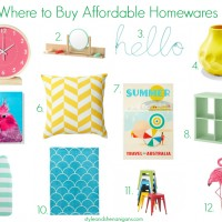 Where to Buy Affordable Home Wares
