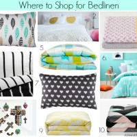 Where to Buy Bedlinen