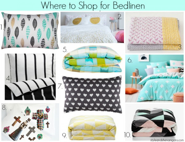Where to Shop for Bedlinen