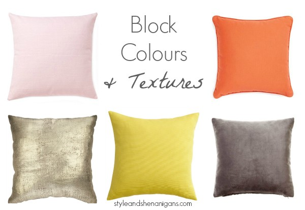 Block Colours & Textures