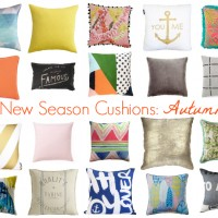 New Season Cushions: Autumn