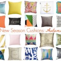 New Season Cushions: Autumn