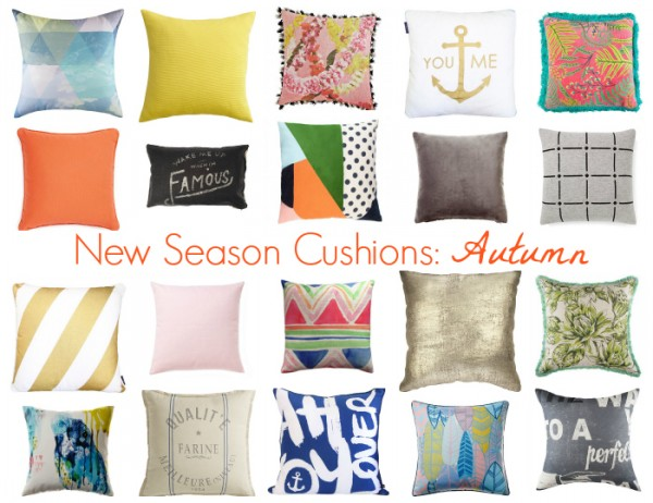 Cushions Autumn Slider