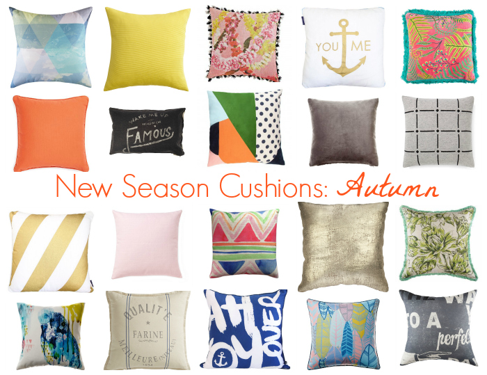 New Season Cushions Autumn Style Amp Shenanigans