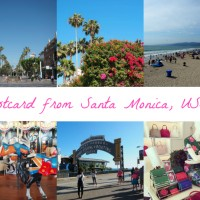 Postcard from Santa Monica