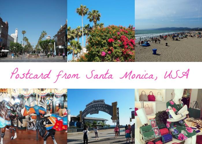 Postcard from Santa Monica