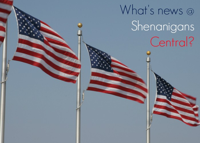 What's News at Shenanigans Central?