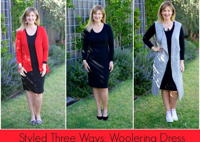 Styled Three Ways: Woolerina Merino Dress