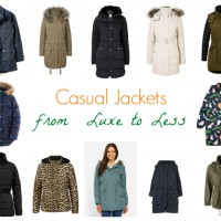 Casual Jackets from Luxe to Less Slider