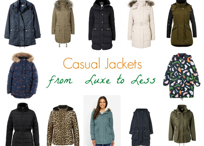 Casual Jackets from Luxe to Less