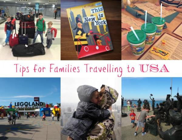 Tips for Families Travelling to the US Slider