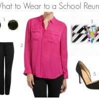 What to Wear to a School Reunion - Pants
